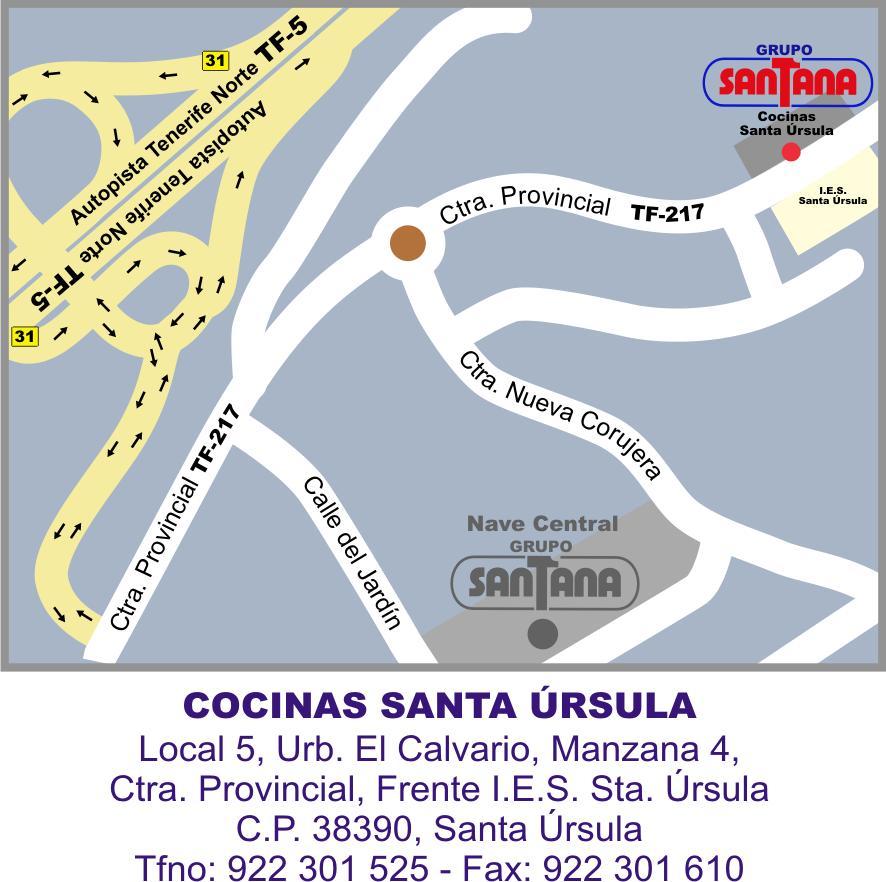 Nuevo Baño Santa Ursula Tenerife:Correo electrónico: cocinas@grupo-santanacom